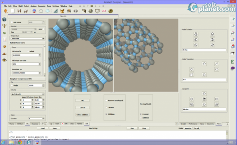 Ascalaph Designer Screenshot4