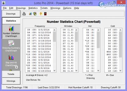 Lotto Pro 2014 Screenshot4