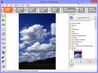 FaceOnBody Screenshot3