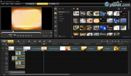 Corel VideoStudio Pro Screenshot4