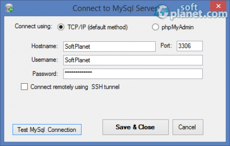 MySql Backup FTP Screenshot3