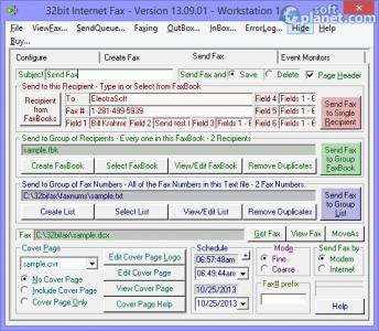 32bit Internet Fax Screenshot2