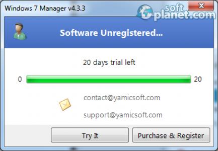 Windows 7 Manager Screenshot3
