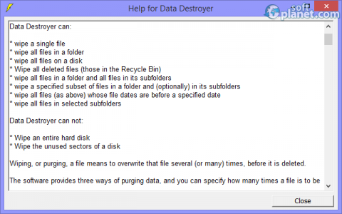 Data Destroyer Screenshot5