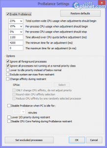 Process Lasso Screenshot2