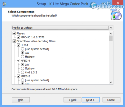 K-Lite Mega Codec Pack Screenshot4