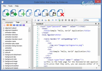 Code Editor And Sharer Screenshot3