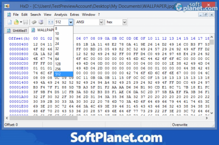 HxD Hexeditor Screenshot2