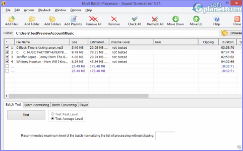 Sound Normalizer Screenshot2