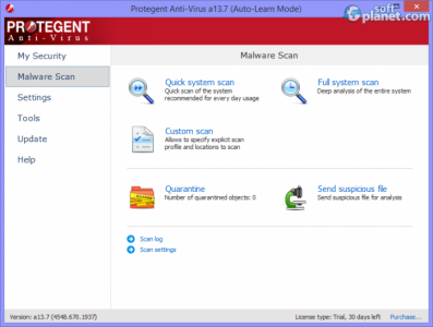 Protegent Anti-Virus Screenshot2