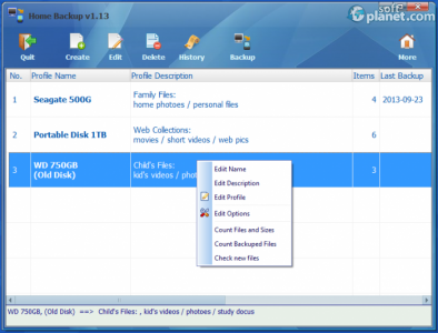 Home Backup Screenshot2