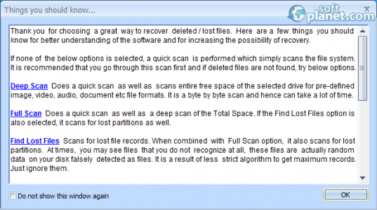 Puran File Recovery Screenshot2