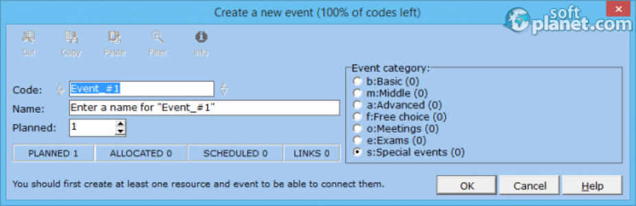 Mimosa Scheduling Software Screenshot2