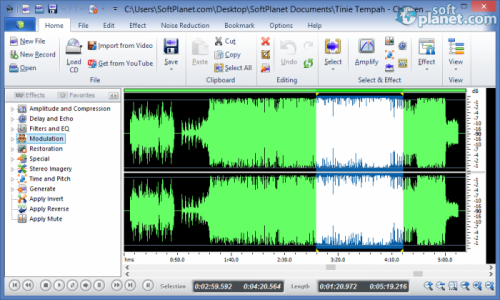 Power Sound Editor Free Screenshot2