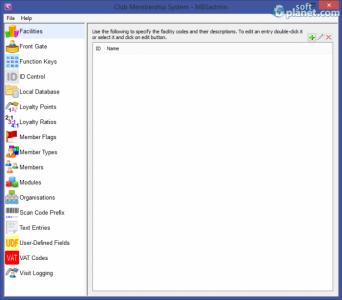 Club Membership System Screenshot3