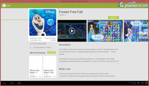 BlueStacks App Player Screenshot4