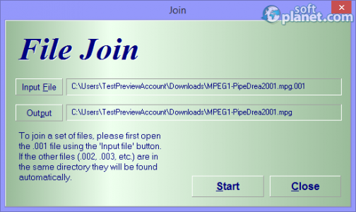 HJSplit Screenshot3