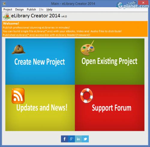 eLibrary Creator 2014 4.0