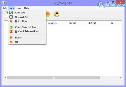SegyMerge Screenshot2
