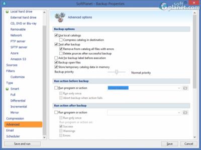 Backup4all Professional Screenshot5