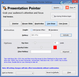 Presentation Pointer Portable Screenshot4