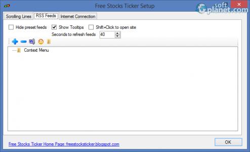 Free Stocks Ticker Screenshot2