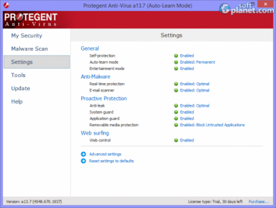 Protegent Anti-Virus Screenshot5