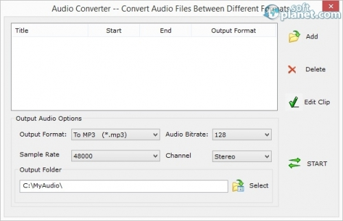 AoA Audio Extractor Platinum Screenshot2