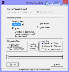 Acoustica MP3 Audio Mixer Screenshot2
