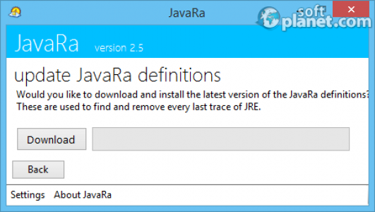 JavaRa Screenshot2