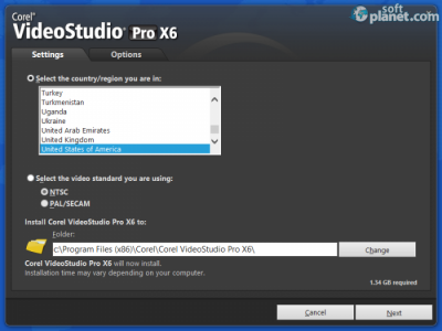 Corel VideoStudio Pro Screenshot5