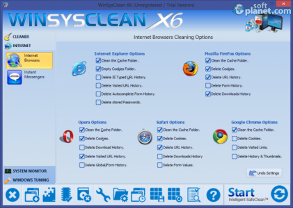 WinSysClean Screenshot2