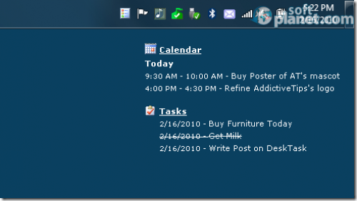 DeskTask Screenshot2