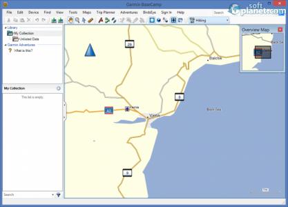 Garmin BaseCamp Screenshot2
