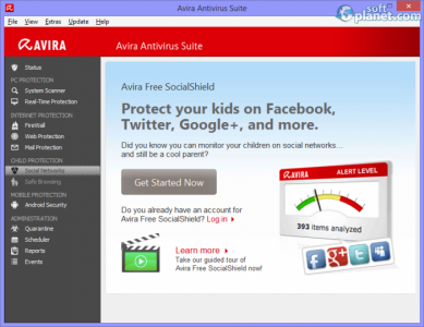 Avira Antivirus Suite Screenshot3