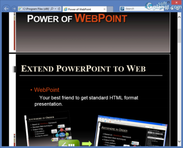 WebPoint Screenshot5