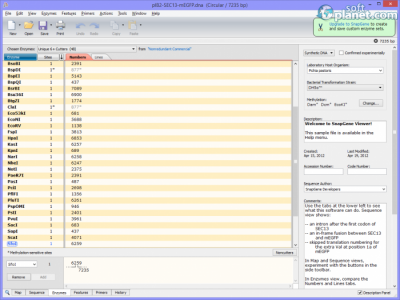 SnapGene Viewer Screenshot3