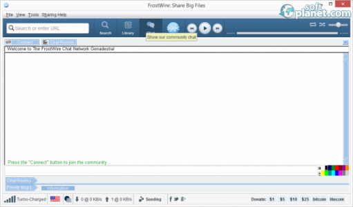 FrostWire Screenshot3