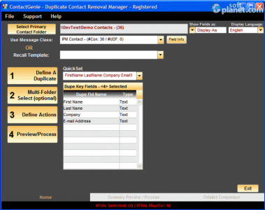 ContactGenie Toolkit Screenshot2