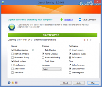 Crystal Security Screenshot2
