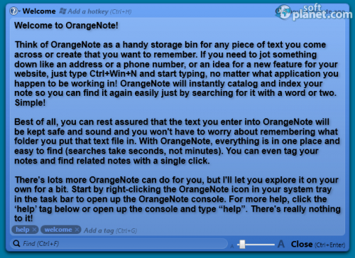 OrangeNote Screenshot2