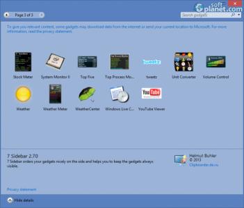 8GadgetPack for Windows 8 Screenshot3