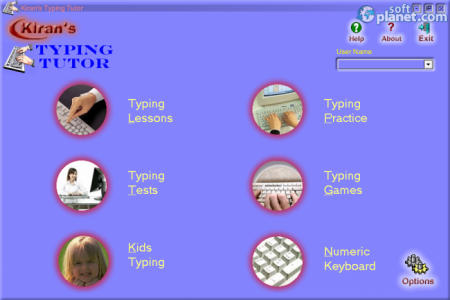 Kiran's Typing Tutor Screenshot4