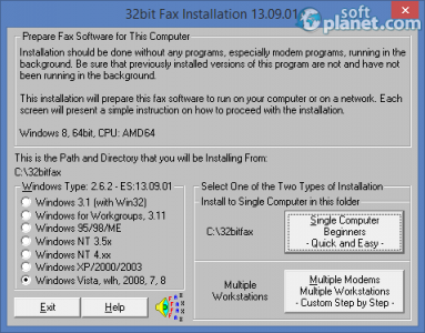 Faxmail Network for Windows Screenshot2