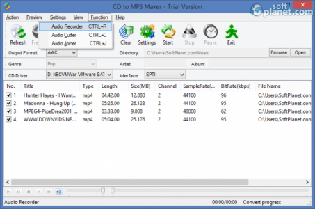 CD to MP3 Maker Screenshot3