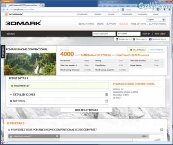 PCMark 8 Basic Edition Screenshot2