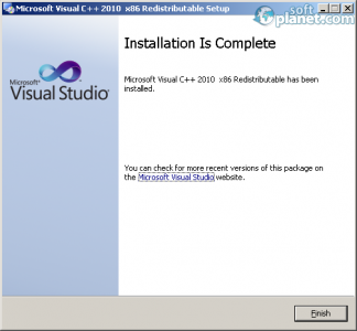 Microsoft Visual C++ Redistributable Package 2010 SP1 Screenshot3