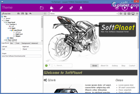TOWeb Screenshot5