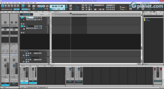 SONAR X3 Producer Screenshot2