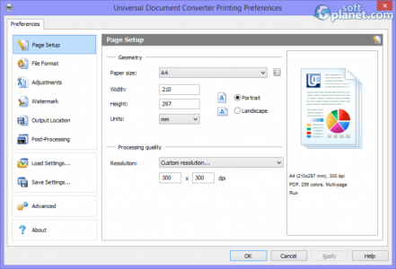 Universal Document Converter Screenshot2